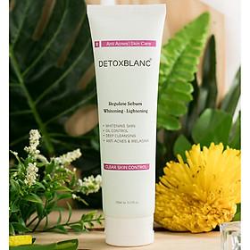 Sữa Rửa Mặt Chiết Xuất Từ Than Hoạt Tính Detox BlanC Clear Skin Control (150ml)