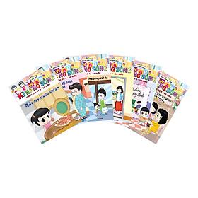 Combo Kỹ Năng Sống (Dành Cho Trẻ 4-10 Tuổi) (6 cuốn)