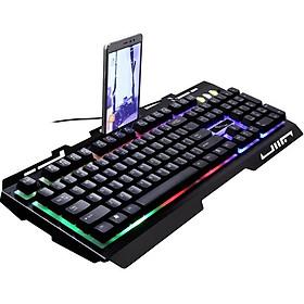 Bàn phím chơi game đổi màu G700 Led giả cơ siêu đẹp - Màu ngẫu nhiên - Hàng nhập khẩu