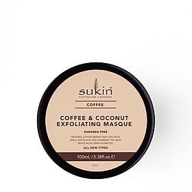 Mặt Nạ Tẩy Tế Bào Chết Cà Phê Và Dừa Sukin Coffee & Coconut Exfoliating Masque 100g