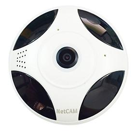 Camera Quay Toàn Cảnh 360 độ Netcam Panorama VH04 FullHD 1080P - Hàng Chính Hãng