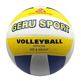 Bóng chuyền cao su Gerustar V5 Geru Sport (Tặng Băng dán thể thao + Kim bơm + Lưới đựng)