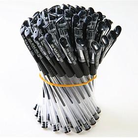 Combo gồm 50 bút bi nước nét đẹp đều mực 3 màu xanh đen đỏ