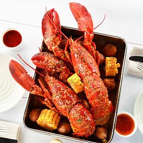 Lobster Bay - Voucher 1 Con Tôm Hùm Alaska Sống 500g Chế Biến 1 Trong 20 Món Tuỳ Chọn