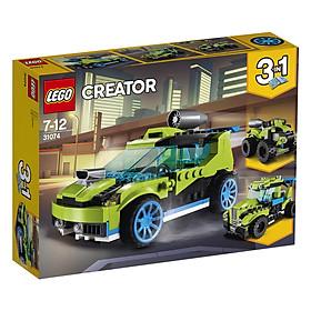 Bộ Lắp Ráp Xe Đua Động Cơ Tên Lửa LEGO CREATOR 31074 (241 chi tiết)