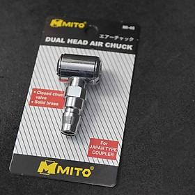 Đầu bơm lốp xe 2 đầu MITO : MI-46 (Coupler)