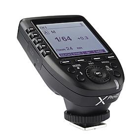 Máy Phát Kích Hoạt Đèn Flash Không Dây Godox XproO Màn Hình LCD Olympus PEN-F / E-P3 / E-P5 / E-PL5 / E-PL6 / E-PL7 / E-PL8 / E- M1 / E-M10II Cho Panasonic DMC-G85 / DMC-GH4 / DMC-GF1 / DMC-GX85 / DMC-LX100 / DMC-FX2500GK - Đen ( 2.4G 1 / 8000s HSS)