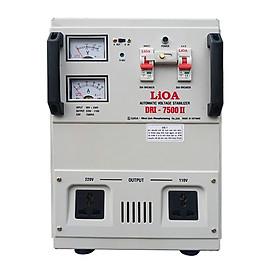 Ổn áp 1 pha LiOA DRI-7500 II