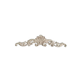 Cabinet Wood Carved Applique Decal Frame Onlay Furniture Decoration Accessory Home Cabinet Door Craft