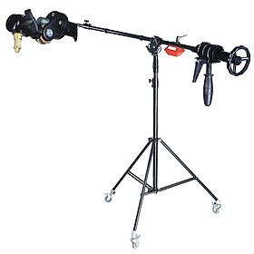 Chân Boom Pro Light stand BM2560T Điều Chỉnh Đèn Xoay 360 Độ - Hàng Nhập Khẩu