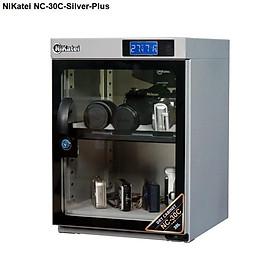 Tủ chống ẩm máy ảnh Nikatei NC-30C Silver Plus- Hàng chính hãng