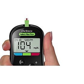 Combo Máy Đo Đường Huyết One Touch Ultra Plus Flex Johnsons & Johnson ( Tặng kèm lọ 25 que thử+100 kim lấy máu + 100 cồn khô )