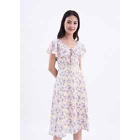 """Đầm hồng hoa cánh tiên Lydia Floral Dress Maybi """"Coming Home"""" - Hồng - XL"""