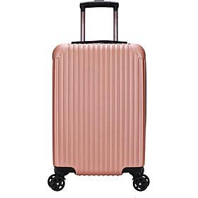 Vali du lịch tay kéo cao cấp chất liệu nhựa PC ABS chống va đập 20 inch
