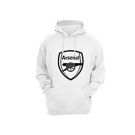 Áo Hoodie Tay Dài Có Mũ Logo Arsenal