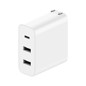 Xiaomi AD653 USB Charger 2A1C 65W 40W 18W Power Adapter With Foldable US Plug Mini Portable Wall Travel Charger 100-240V