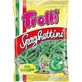 Kẹo dẻo Trolli Spaghettini Sour vị Táo 100gr
