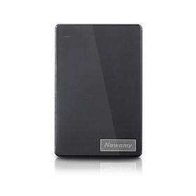 Ổ Cứng Di Động USB 3.0 Newsmy Chống Trơn Trượt (2.5 Inch) - Đen
