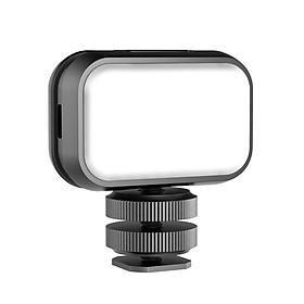 Đèn LED trợ sáng mini Ulanzi VL28 5600K tích hợp sạc với cáp chuyển đổi dùng chụp ảnh, quay video