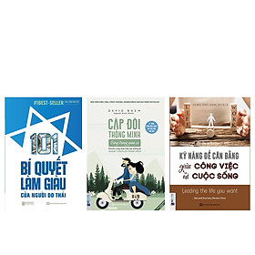 Combo bộ sách PHỤ NỮ LÀM GIÀU(Kỹ năng để cân bằng giữa công việc và cuộc sống+101 Bí Quyết Làm Giàu Của Người Do Thái+Cặp đôi thông minh sống trong giàu có) DL