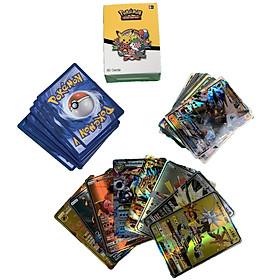Bộ Thẻ Bài Pokemon 60 Thẻ (55Gx + 5Mega) Chơi Đối Kháng New Đẹp