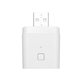 8PCS Tuya Micro 5V Wireless USB Smart Adaptor Flexible and Portable Make USB Devices Smart via Tuya APP Voice Control