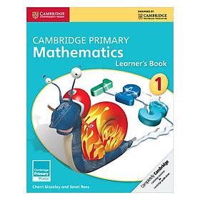 Cambridge Primary Mathematics 1: Learner Book
