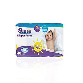 Tã quần SMEE cho bé XL48 (Size XL)