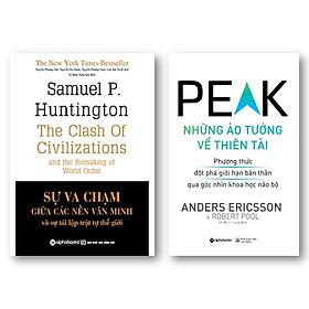 Combo Sách: Sự Va Chạm Giữa Các Nền Văn Minh Và Sự Tái Lập Trật Tự Thế Giới + Những Ảo Tưởng Về Thiên Tài