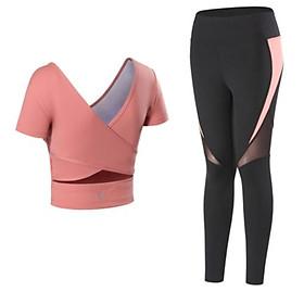 Bộ đồ tập Yoga, Gym, Aerobic Cao Cấp, Áo có sẵn mút, quần cao cấp, chất co giãn 4 chiều - Mẫu Mới Nhất