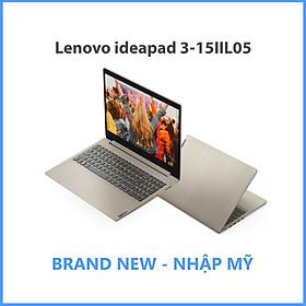 Lenovo ideapad 3-15IIL05 Core i7-1065G7 / 8GB / 256GB / 15.6 FHD Cảm Ứng / Win 10 - Hàng Nhập Khẩu