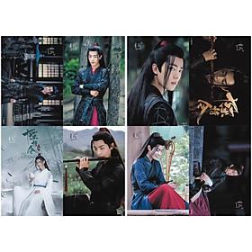 Poster 8 tấm HD Di Lăng Lão Tổ Ngụy Vô Tiện Ngụy Anh