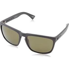 Electric Visual Knoxville XL Matte Black/OHM Polarized Grey Sunglasses