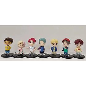 Bộ Mô hình tượng BTS KPOP set 7 Figure