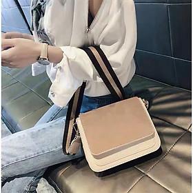 Túi đeo chéo nữ thời trang MINI T40 21x17x8cm (Đỏ-Đen-Nâu đậm-Nâu sáng)