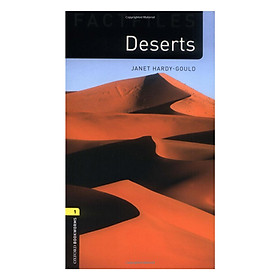 Oxford Bookworms Library (3 Ed.) 1: Deserts Factfile Audio CD Pack