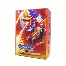 Bộ Thẻ Bài Chơi Pokemon 100 Thẻ 100Z (89GX + 11TRAINER) TEAM Tag Team GX MEGA EX Sưu Tập, Chơi Đối Kháng New Đẹp