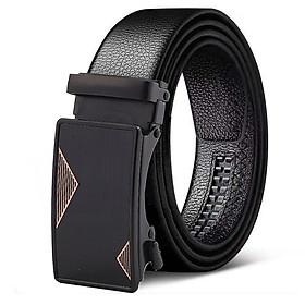 Dây nịt nam, thắt lưng nam TOPEE khóa tự động dây da cao cấp - Mẫu HOT - Thiết kế siêu cá tính T4S68
