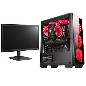 Máy tính Case PC Gaming Desktop cao cấp Core i7, Ram 8Gb, hai ổ cứng SSD + HDD, VGA 1050Ti, màn 22inch 4TechGM04 2019, thùng cây để bàn Full Led chiến mọi Game hay thế giới Maxsetting, Live Stream, thiết kế đồ họa, Edit Video, làm Youtube. - Hàng Chính Hãng.