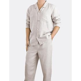 Bộ quần áo ngủ Linen Tales cho Nam, chất liệu linen cao cấp