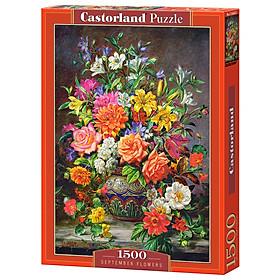 Đồ chơi ghép hình puzzle September Flower 1500 mảnh Castorland C151622