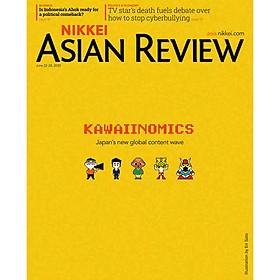 Nikkei Asian Review: Kawaiinomics - 25.20, tạp chí kinh tế tiếng Anh, nhập khẩu từ Singapore