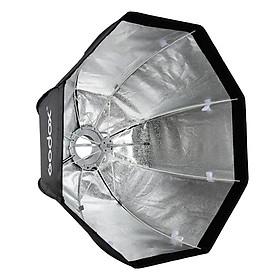 Softbox Dù Portable Bowen Mount 80cm - Hàng Nhập Khẩu
