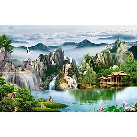 Tranh Dán Tường 3D Cao Cấp TGTV_FT3692