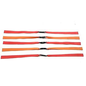 Bộ 5 dây thun cao su dây dẹt 2 lớp