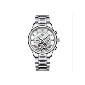 Đồng hồ cơ nam Tevise J99806 Chính hãng, Đồng hồ nam dây thép không gỉ cao cấp, Đồng hồ nam kính sapphire chống xước, Đồng hồ nam chống nước - Hàng fullbox