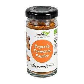 Bột  Nghệ Hữu Cơ 30g Lumlum Organic Turmeric Powder