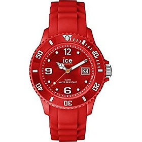 Ice-Watch Unisex SI.RD.U.S.09 Sili Collection Red Plastic and Silicone Watch