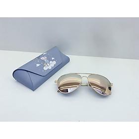 kính mắt nữ tráng gương mắt ruồi, thời trang, UV400, mắt kính phân cực OVD0001