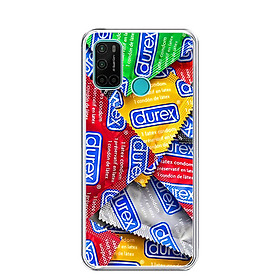 Ốp lưng dẻo cho điện thoại VSMART JOY 4 - 0217 DUREX - Hàng Chính Hãng